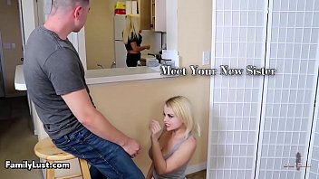 famlust-Teen blonde gets fucked with a young man