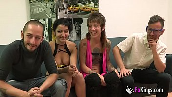 Unexperienced couples' first wife swap ends up badly