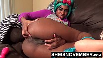 Assgaping Cracking My Asshole Open For You Daddy, Yiff Cosplay Model Msnovember AnalGape After Pulling Down My Wet Panties Then Stuffing My Black Ass With A Pink Butt Plug HD Sheisnovember