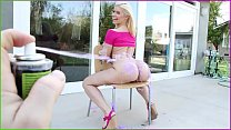 BANGBROS - Blonde Pornstar Annika Albrite Gets Her Juicy Big Ass Fucked