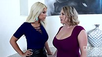 Sapphic Examination - Busty Babes Play With Their Big Tits