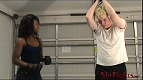 Private Beatdown Session With Moriah