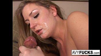 Avy Scott invites her boy toy over for a little joy of her own