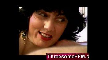 Spanish Mom and Daughter Fucking Nerd Guy - threesomeffm.com 24 min