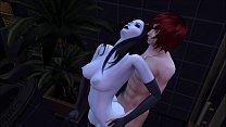 [Sims 4] Demon Girl Visit