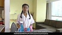MAMACITAZ - #Maria Antonia Alzate - Latina Maid Eating Pussy On Duty 10 min