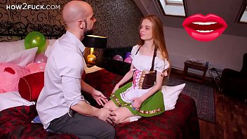 How to teach a virgin to do blowjob and handjob (Mia Sun and Jean-Marie Corda)