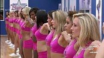 Cheerleaders doing the famous split 6 min