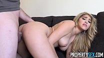 PropertySex - Curvy real estate agent fucks her client in condo 10 min