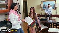 BANGBROS - Flunking Step Daughter Gets A Golden Rachel Starr 12 min