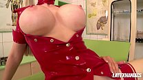 Latex clinic pussy eating & anal with Latex Lucy & Eva Parcker