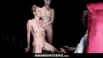Two Mormon Girls Ride Dildos In Front Of Church President 8 min