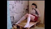 Schoolgirl k. tied up and fucked