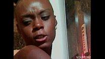 Small ebony in shower by GPJ 7 min