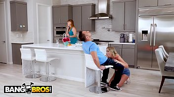 BANGBROS - Alexis Adams Wants Her BF's Bareback Dick Inside Of Her, But Mom Is Watching 12 min