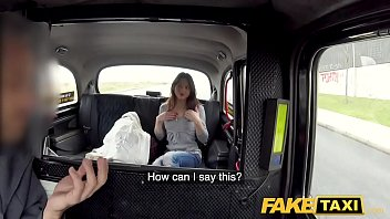 Fake Taxi Hard fucking rocks taxi cab with tight pussy petite French babe 8 min