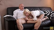 DADDY4K. Very bad dad fucks Candee in front of her bf 7 min