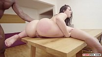 Black Landlord fucked Mandy Muse's huge ass