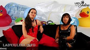 Herrin Carmen und Lady Julina suchen ein Adult-Windelbaby