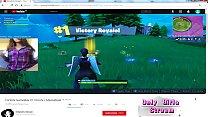 fortnite  Gamer girl  Masturbate Youtube stream