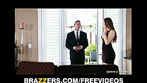 Young wife Dani Daniels fucks her husband's business partner 7 min
