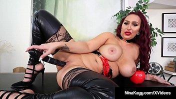 Plump Rump Hottie Nina Kayy a. All Her Small Dick Fans!