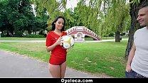 TeamSkeet - Horny Latina Fucking during World Cup