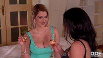 Big Dick Lovers Sienna Day & Inna Ride Husband in Hardcore Threesome 22 min