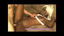 street fighter cosplay AMBW Asian guy black girl