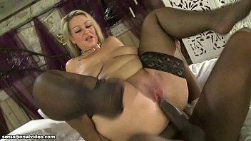 Busty British BBW MILF Dani Amour Fucks Omar's Black Cock