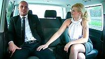 VIP SEX VAULT - Big ass blonde Barbara Nova rides horny driver