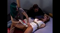 Candle Boxxx Bound, Gagged and Brought to Orgasm
