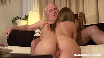 Old farmer gets horny and fucks his hot niece 4 min