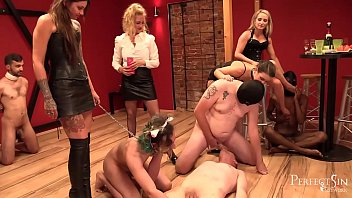 Mistresses' Party - Goddesses Need  To Relax After Hard Day 10 min