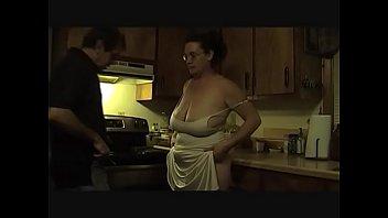Wife pays rent, big tits 5 min