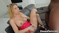 Lexington Steele fucks a horny blonde Brittney Amber