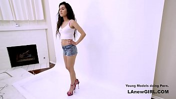 Teen fucked during photoshoot audition
