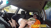 Fake Driving School Georgie Lyall Off Duty Sex 8 min