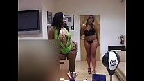 Amazing well shaped black girls throats white dick in the office 9 min