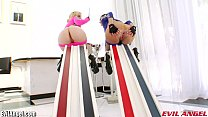 EvilAngel Extreme Anal Insertions and HUGE Toys