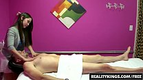 Half asian teen rubs and tubs in the back room on camera - Reality Kings