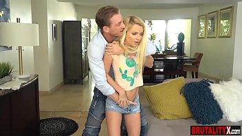 Disobedient stepdaughter teen punish fucked by stepdad