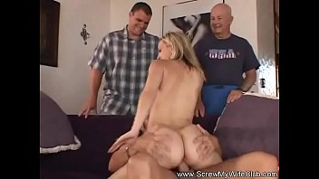 Swinger Wife Trys Some New Dick