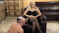 Mistress humiliates slave