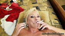 Ms Paris Rose is Santa's Smoking Hot Helper 10 min