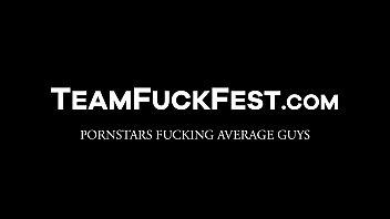Bootylicious Pornstars fucking hard with regular dudes 5 min