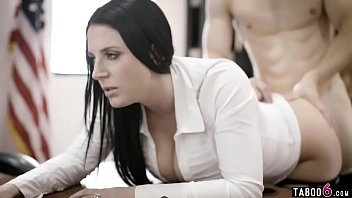 Huge tits councilwoman gets exploited by a businessman 6 min