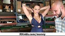 Sexy girls fucking for money 15