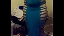 Mi tía se compra un vestido para cumplir una fantasia