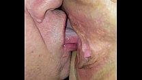 His magic tongue feels amazing! 6 min
